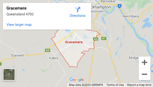 Gracemere-map