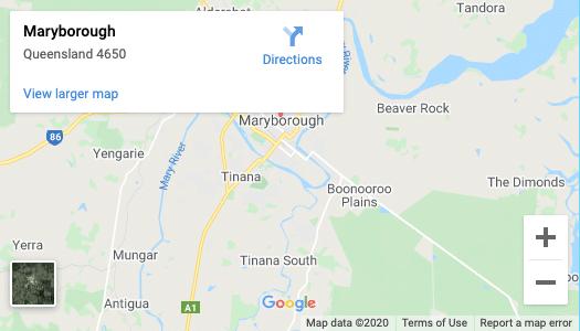 Maryborough-map