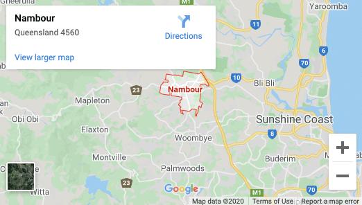 Nambour-map